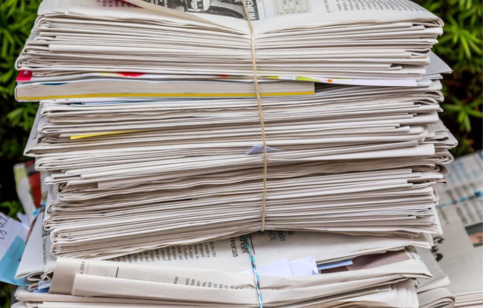 Collecte de Papiers, Journaux, Livres, Prospectus